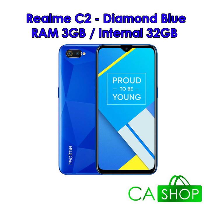harga Realme c2 - 3gb 32gb (3/32) - blue - baru new - resmi real me Tokopedia.com
