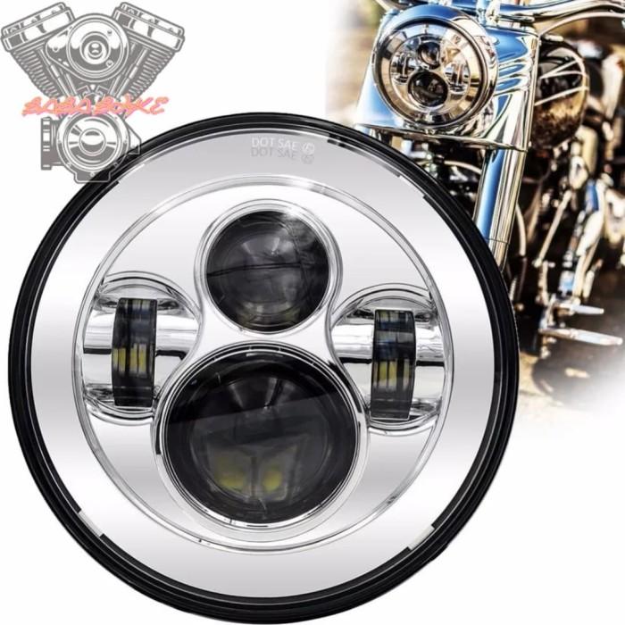 Foto Produk Daymaker 7 inch Chrome Harley dan Rubicon dari Baba Bike