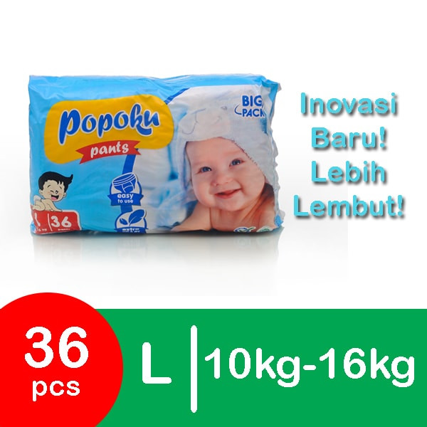 harga Popok bayi celana new pants size l36 Tokopedia.com