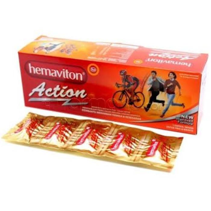 Foto Produk Hemaviton Action 1S Isi 5 dari alleee store