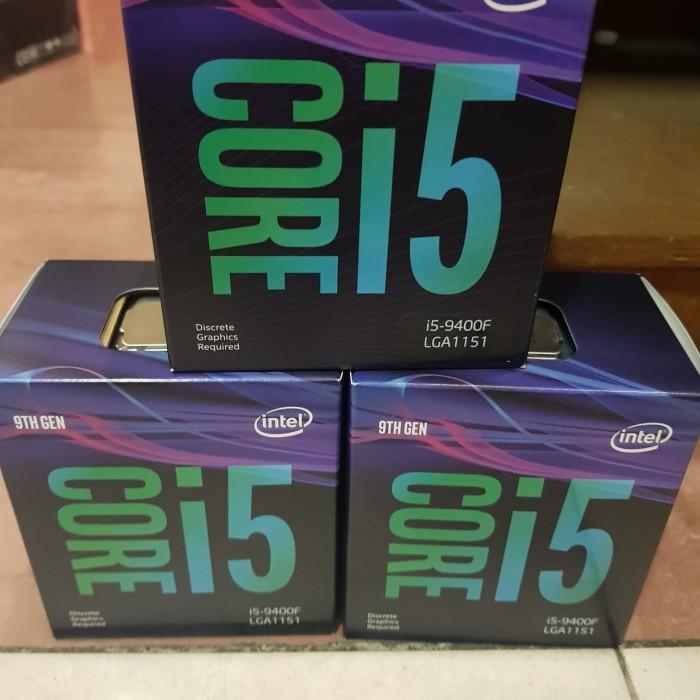 harga Intel core i5 9400f box socket lga 1151 9th generation cannonlake Tokopedia.com