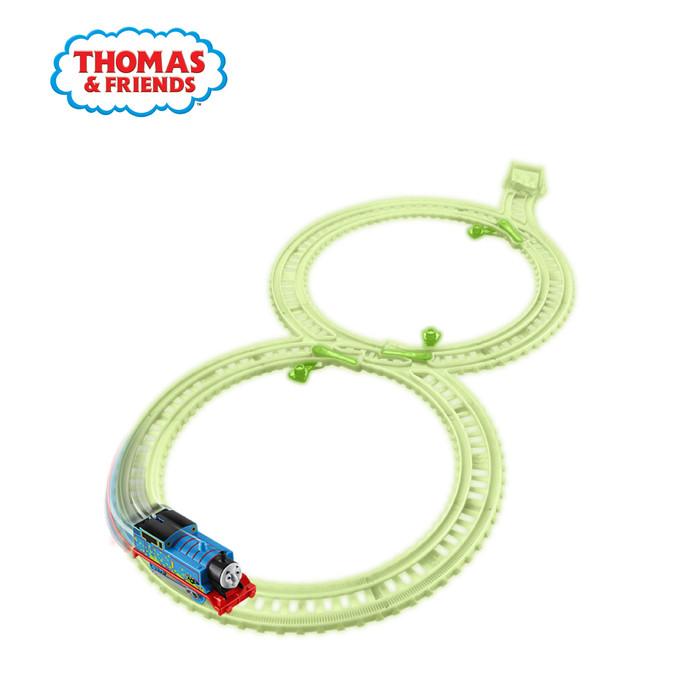 Thomas and friends trackmaster glowing track pack - mainan trek kereta