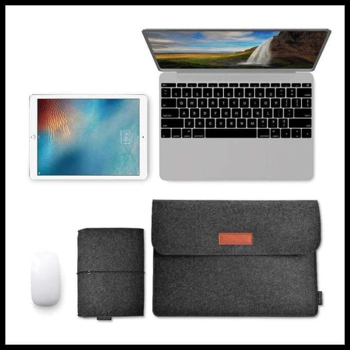 Jual Promo Sleeve Case Laptop Macbook 12 13 Inch Pro Free Pouch Tas Lenovo Jakarta Barat Tokoviventiuss Tokopedia