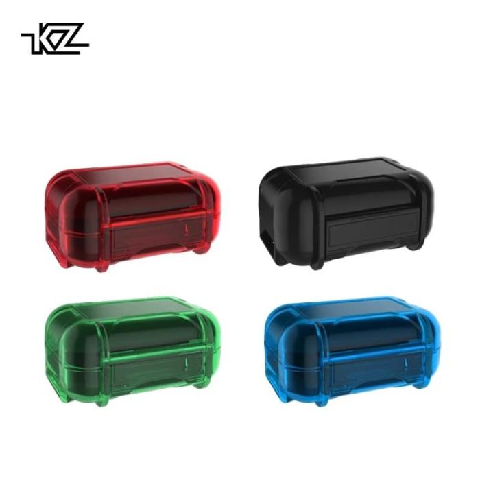 Foto Produk Case KZ ABS Earphone Storage Box / Case ABS Resin Ori - Biru dari Arjuna Official Store