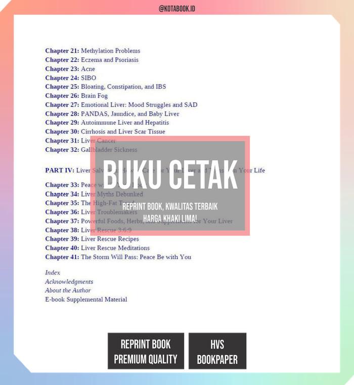 Jual Buku Cetak - Medical Medium Liver Rescue: Answers to Eczema, Psoriasis  - Kota Surabaya - kotabook | Tokopedia