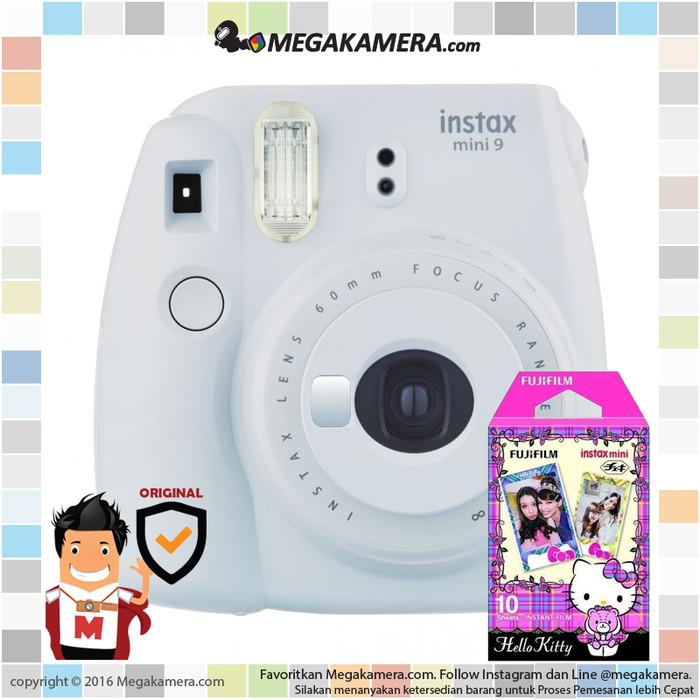 harga Fujifilm instax mini 9 instant film camera (smoky white) Tokopedia.com