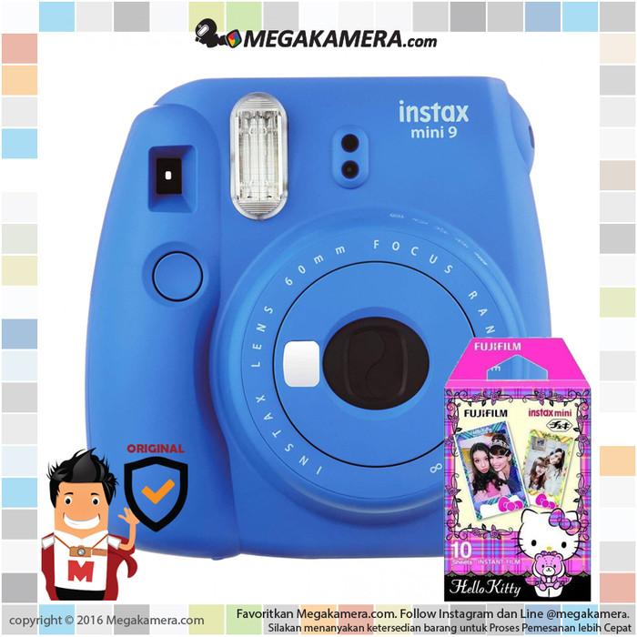 harga Fujifilm instax mini 9 instant film camera (cobalt blue) Tokopedia.com