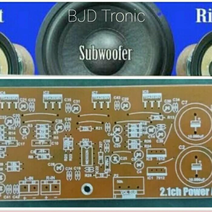 Jual PCB POWER AMPLIFIER 2 1CH TDA2030/LM1875 - Jakarta Barat - BJD Tronic  | Tokopedia