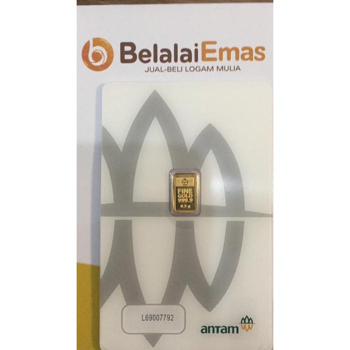 Foto Produk Emas Logam Mulia LM Antam 0,5 gram dari Belalai Emas - Bandung