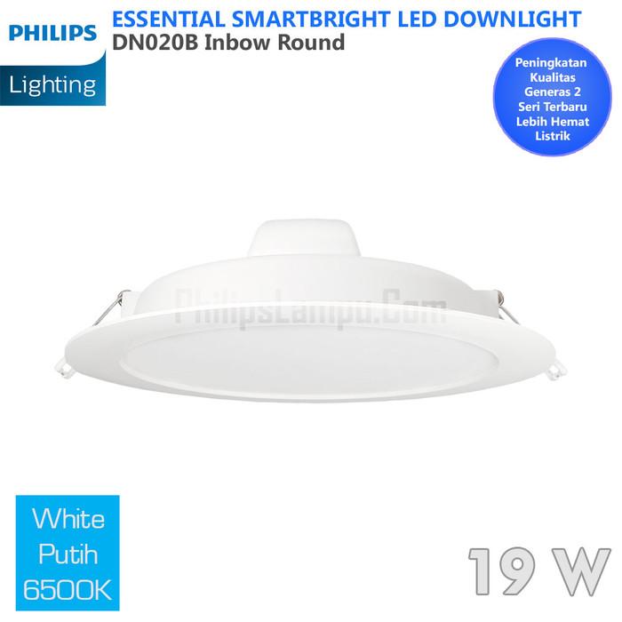 Foto Produk Lampu Downlight LED Philips 20W DN020B 20 W White Putih dari philipslampu
