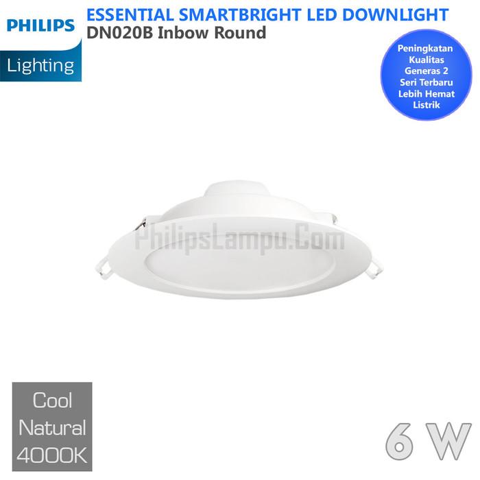 Foto Produk Lampu Downlight LED Philips 8W DN020B 8 W Cool White Natural dari philipslampu