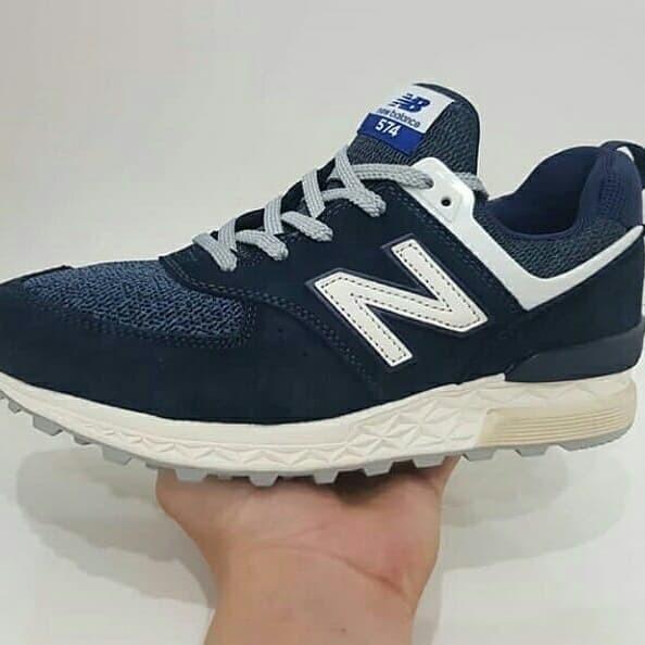 design de qualité bdbe1 d6b6b Jual Sepatu NEW BALANCE 574 NAVY - Kota Bogor - Pojok Levis | Tokopedia