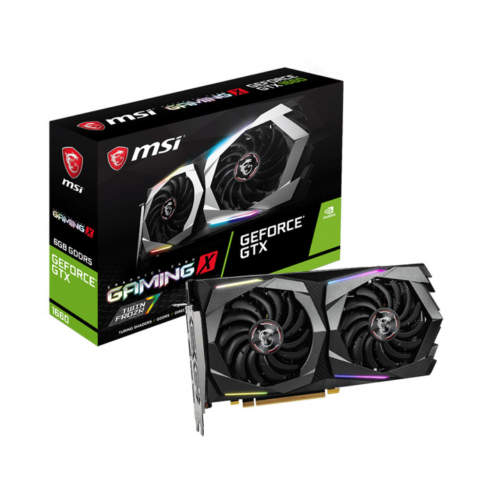 Foto Produk MSI Geforce GTX 1660 6GB DDR5 - Gaming X 6G dari Enter Komputer Official
