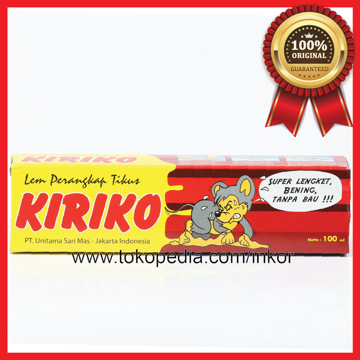 Jual Kiriko Lem Tikus Tube Super Lengket Bening Tanpa Bau 100ml Kab Tangerang Inko Tokopedia
