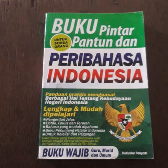 Foto Produk Pintar pantun dan peribahasa indonesia dari iinbuku
