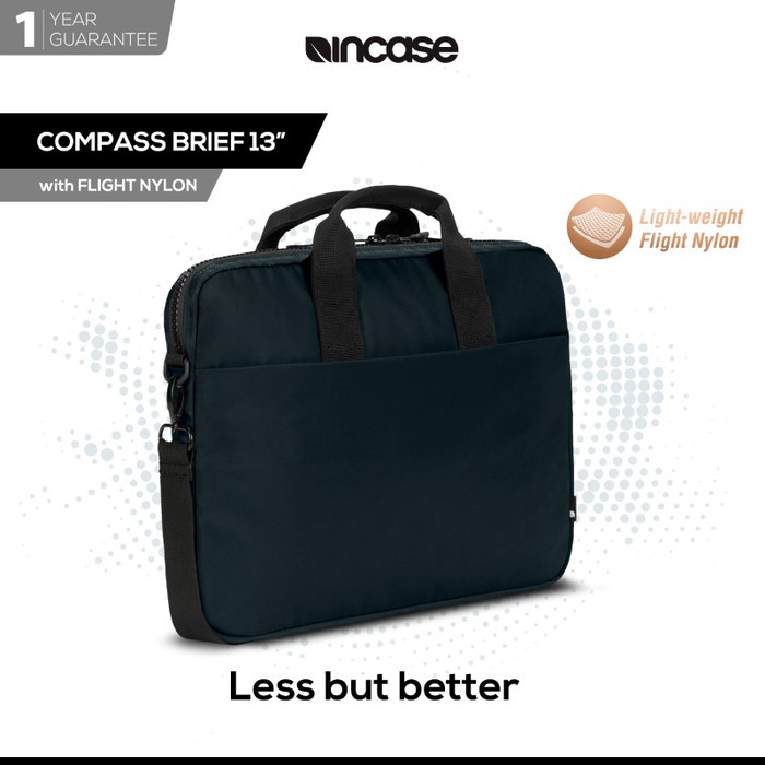 Incase bag compass brief 15 inch w/flight nylon (inco300518) - biru