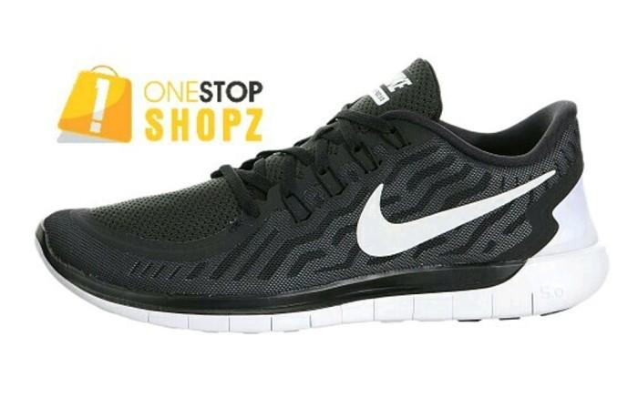 724382 002 Nike Free 5.0 Mens Running Shoes Black