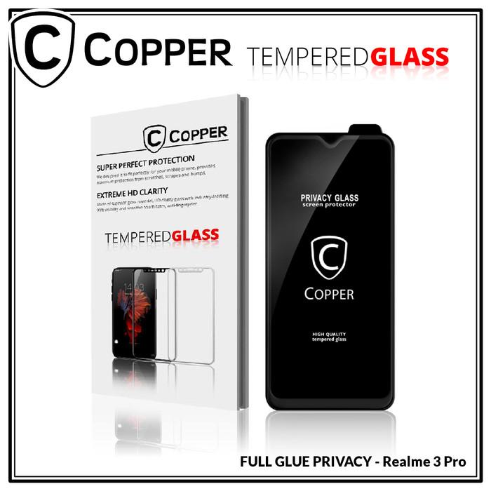 Foto Produk Realme 3 Pro - COPPER Tempered Glass PRIVACY / ANTI SPY (Full Glue) dari Copper Indonesia
