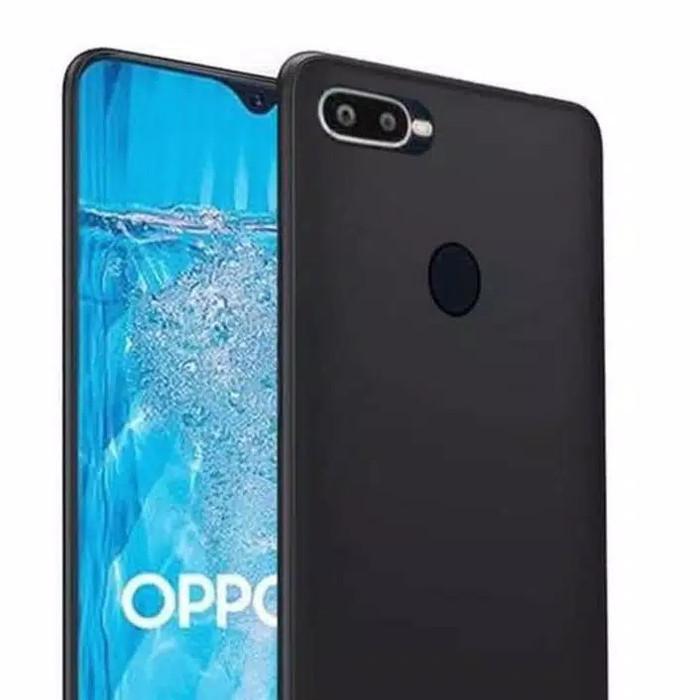 Foto Produk Softcase Oppo A7 / A5S / F9 / F11 Silikon Case Slim Black Matte grosir - Oppo F9 dari De Hits