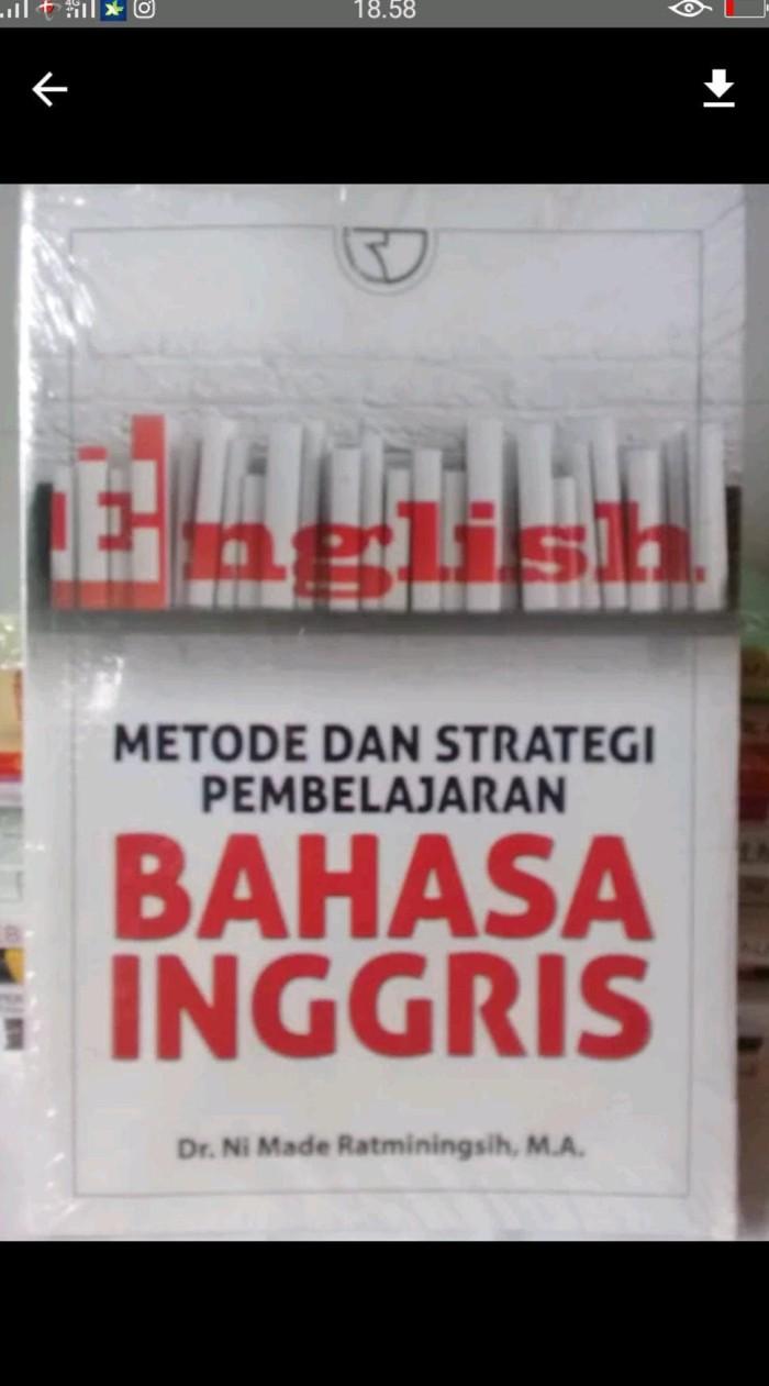 Jual Lucu Metode Dan Strategi Pembelajaran Bahasa Inggris Limited Jakarta Barat Veneshop23