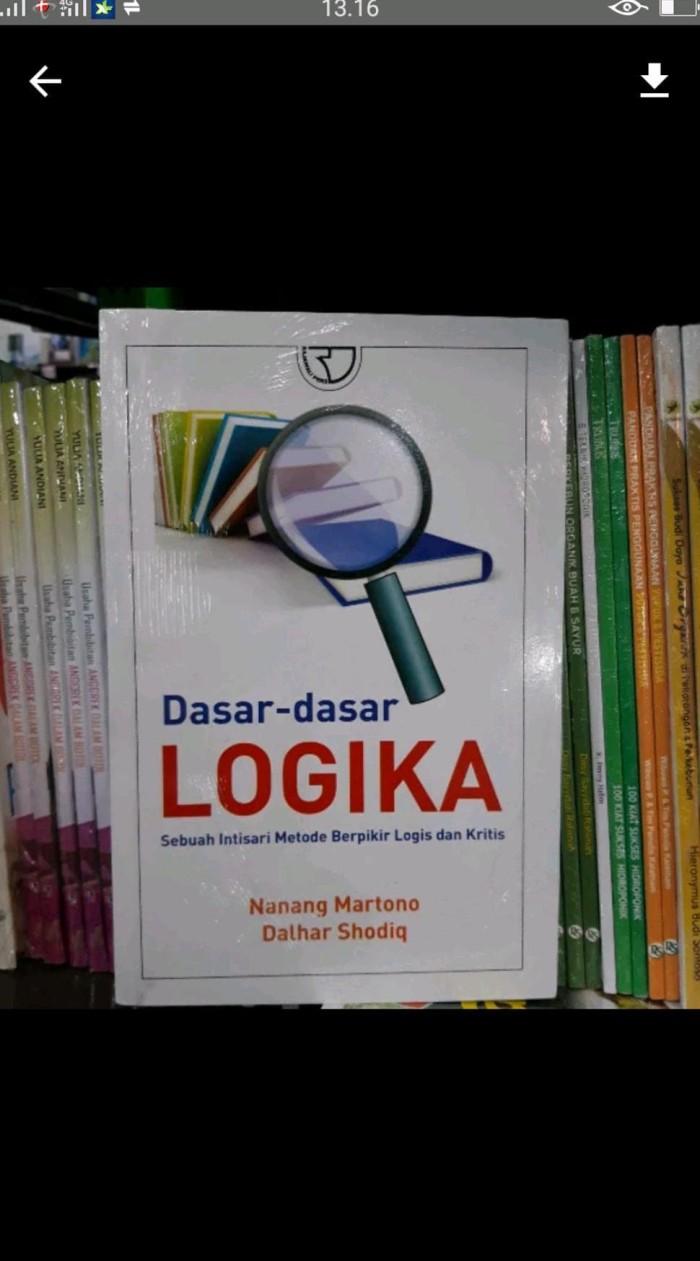 Jual Mudah Dasar Dasar Logika Sebuah Intisari Hemat Jakarta Barat Dania Shop32