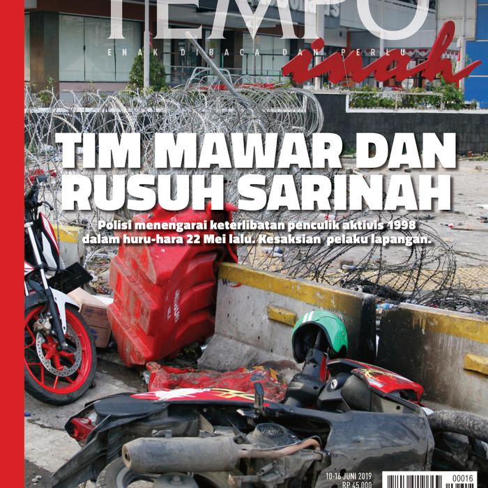 Jual Majalah Tempo 10 Mei Tim Mawar Dan Rusuh Sarinah Versi Pdf Kota Depok Agbj Shop Tokopedia