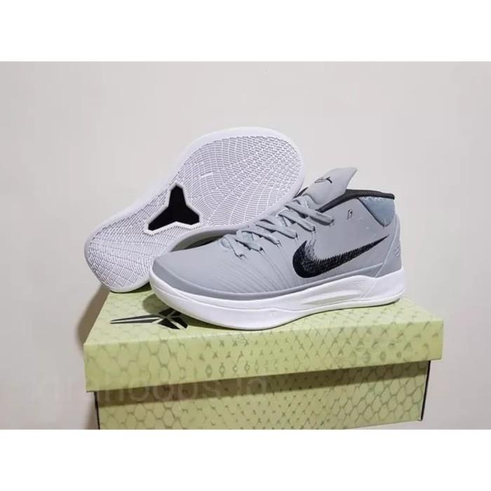 new style f370b e3cff Jual LEBARAN SALE Sepatu Basket Nike Kobe AD MID Cool Grey - DKI Jakarta -  mrshoes66 | Tokopedia