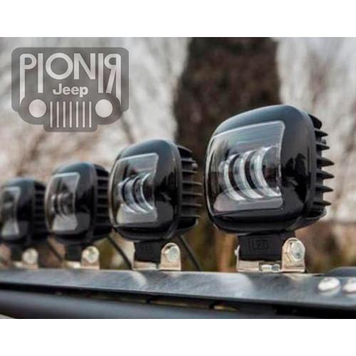 Foto Produk Lampu Kabut Headlight 30 Watt Fog Lamp Led Bar Fog Light Mobil Motor dari PIONIR JEEP