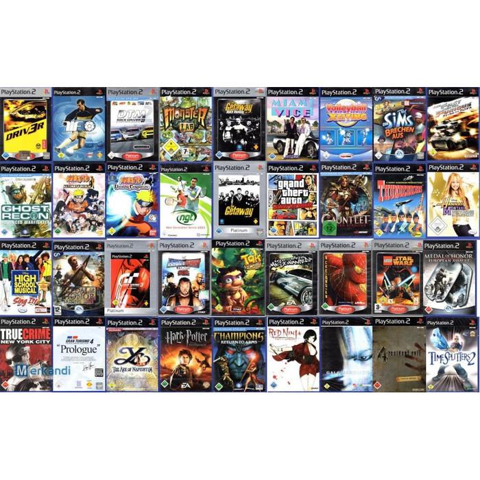 Jual Isi Game Playstation 2 Ps2 Dvd Kota Palembang Blackonex Tokopedia