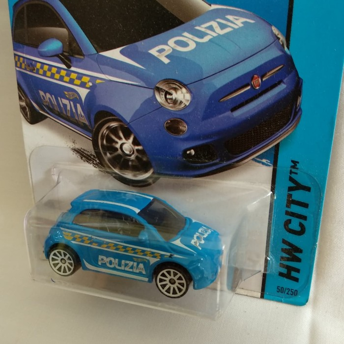 harga Fiat 500 polizia error hidden th hotwheels regular Tokopedia.com