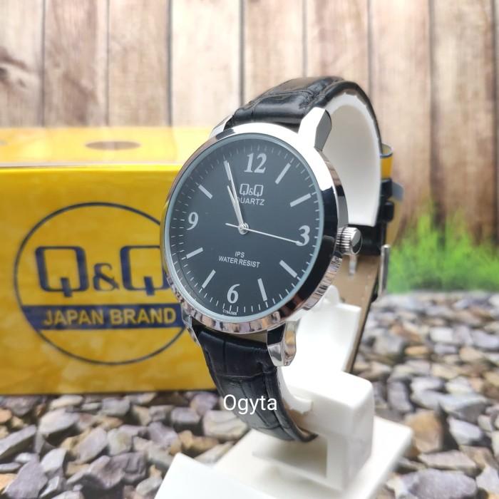 harga Q&q qq model dw jam tangan kulit hitam c154j305y original Tokopedia.com