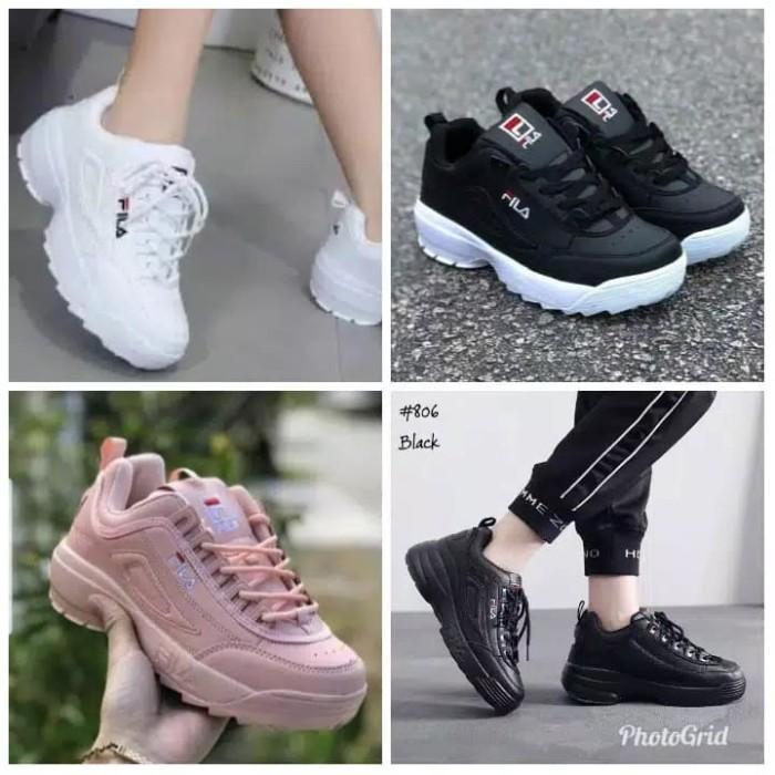Jual Sepatu Wanita Kets Sepatu Sneakers Sekolah Kuliah Casual