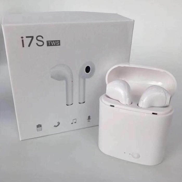 Jual Headset Bluetooth Airpod I7s Earphone Bluetooth Kw Kota Surabaya Aseanphone Tokopedia