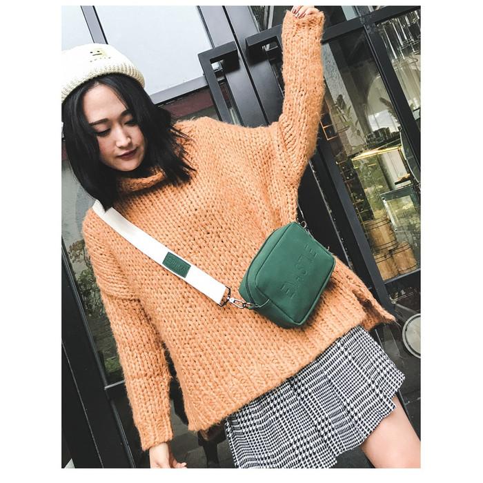 Foto Produk TS89 Anastve Sling Bag / Tas Selempang Wanita / Slempang - Green dari EnnWen Online Store