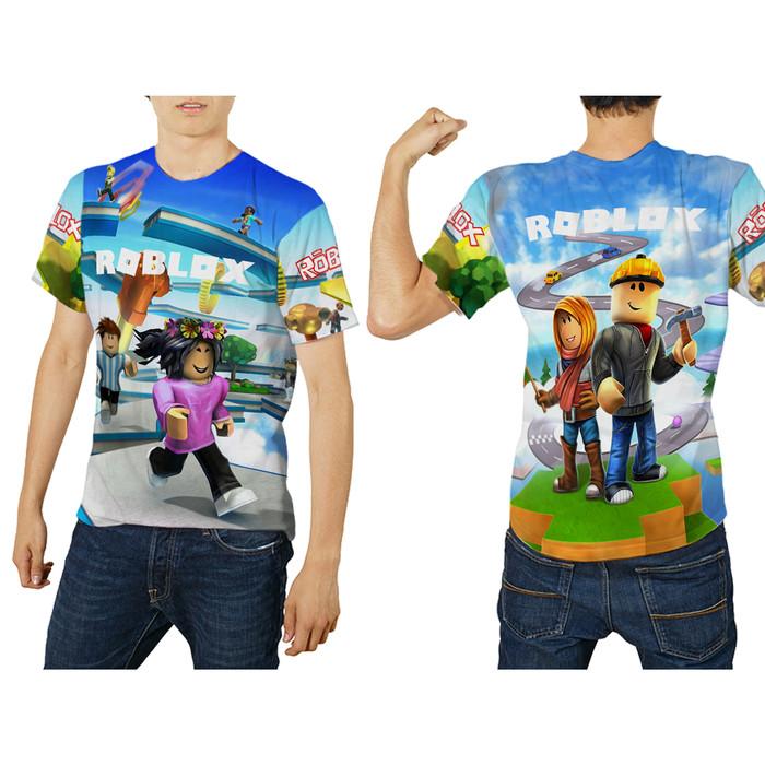 T Shirt Wanita Lengan Panjang New Roblox 3d Fullprint Sublimation Jual T Shirt Kaos Lengan Pendek Pria Roblox Fullprint Art 3 Kab Bandung Fikastore Tokopedia