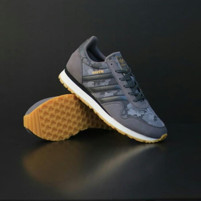 Jual sepatu adidas haven light grey