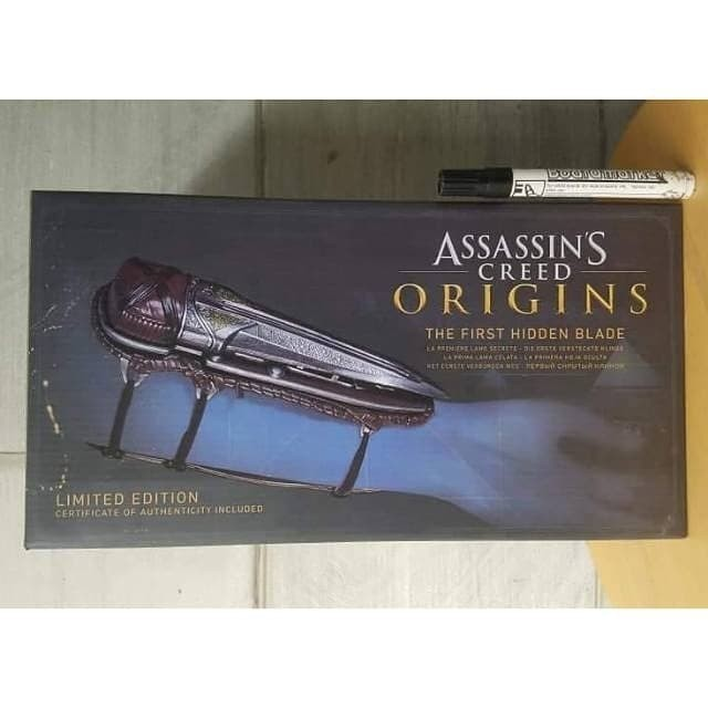 Jual Mainan Action Figure The First Hidden Blade Assassins Creed Origins Ne Kota Bandung Van Marvel Tokopedia