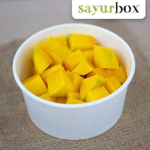 Jual Buah Mangga Potong 1 Pack Sayurbox Jakarta Selatan Sayurbox Tokopedia
