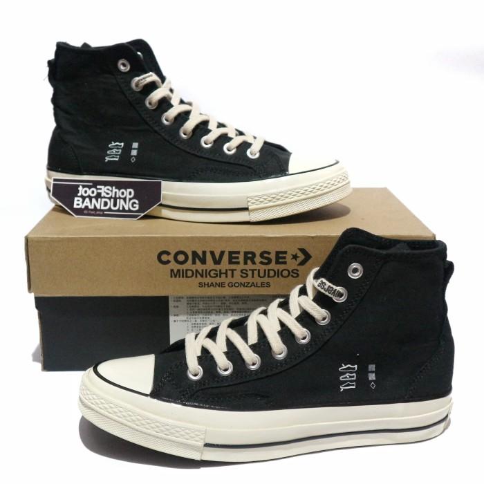 Jual Converse 70s Hi Black White X
