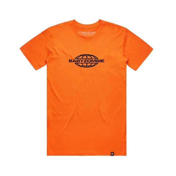 Foto Produk SALE! Globe Orange Tshirt dari Baby Zombie Co.