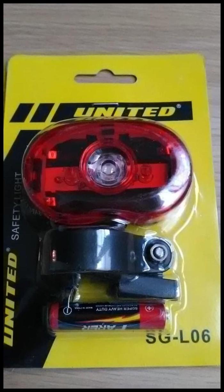 Jual Koleksi Terbaru Lampu Sepeda Belakang United Led Sg L06 Stok Jakarta Pusat Andriyono Store