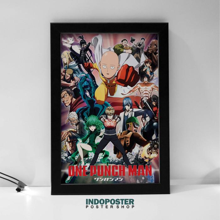 Jual Ip364 Poster Anime One Punch Man Saitama 45x30cm Kab Bandung Indoposter Tokopedia