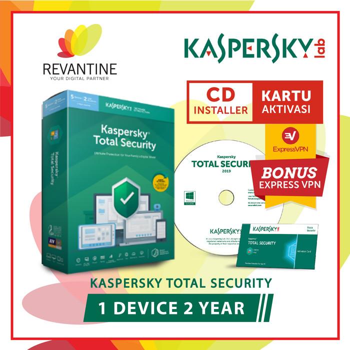 Jual Antivirus Kaspersky Total Security 2019 1 Device 2 Tahun - Jakarta  Barat - Revantine | Tokopedia