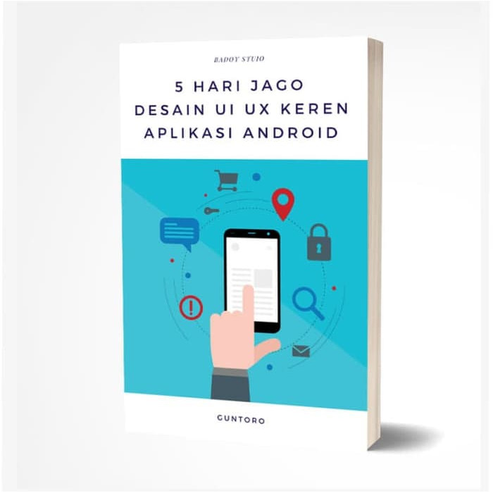 Foto Produk Ebook 5 Hari Jago Desain UI/UX Keren Aplikasi Android dari Tutorial Pemrograman