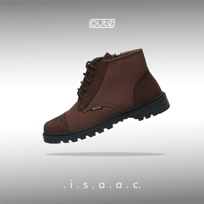 Foto Produk ISAAC CAPTOE BROWN BOOTS dari Routes Shoes