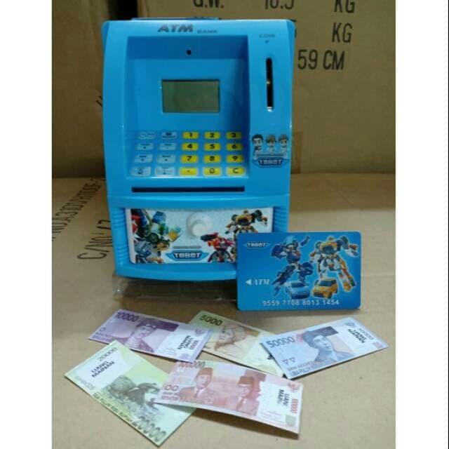 Foto Produk Atm Bank Tobot / Celengan Atm Anak dari tambah subur