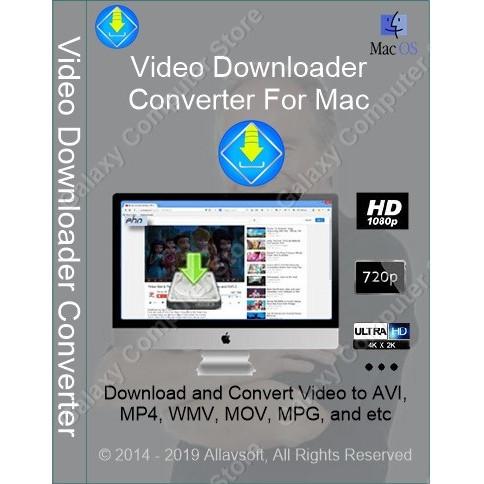 Jual Allavsoft Video Downloader Converter Lisence Original For Mac - Kota  Malang - Galaxy Computer Store   Tokopedia