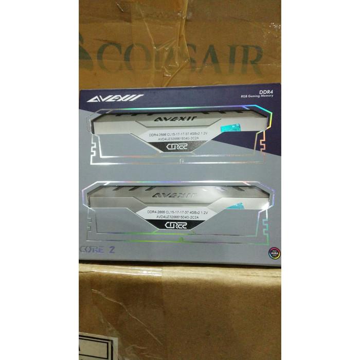 harga Avexir ddr4 core2 titanium 8gb (2x4gb)pc21330 2666mhz rgb spectrum Tokopedia.com