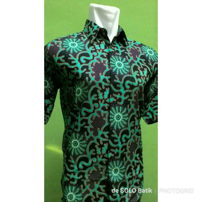 harga Baju batik solo - kemeja batik etnik - hem batik pria Tokopedia.com