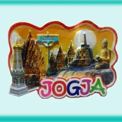Foto Produk Magnet Kulkas Fiber Printing Jogja dari RAFANIA SOUVENIR JOGJA